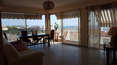 Photo for large apartment 6 th floor exceptional sea view