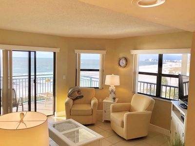 Photo for ABSOLUTE BEACHFRONT CONDO #1- BREATHTAKING VIEWS-CORNER UNIT  Special 10/28-31