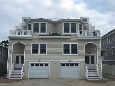 Photo for FALL WEEKENDS! 6 HOUSES TO BEACH..Walk to restaurants/minigolf