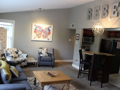 Photo for Only a 2-night min. on ballgame weekends!  Walk to the game from this 3/2 condo!