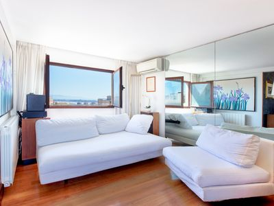 Photo for Cagliari Upper House-Apartment With Sea and City View