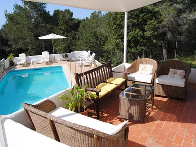Photo for Beautiful 3 Bed Villa & Separate Apartment with Private Pool Close to Beaches