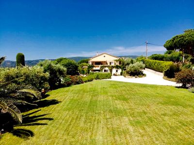 Photo for Villa sea view in Ramatuelle 2 minutes from the beaches of Pampelonne