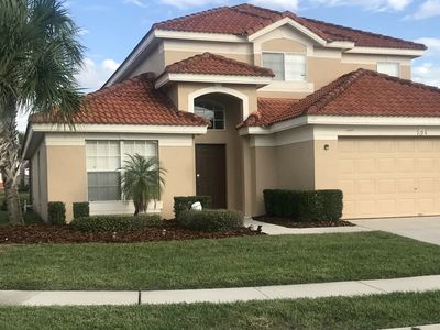 LUXURY FAMILY VILLA Near DISNEY Private POOL/SPA WiFi, Gm Rm