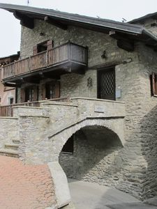 Photo for Beautiful rustic at the entrance to the Val di Cogne, Val d'Aosta