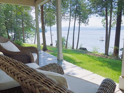 Photo for NEW! Introducing WaterStone: fresh, light-filled lake house on Lake Champlain