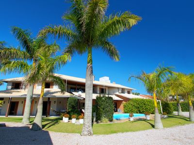 Photo for House with 7 suites with air conditioning, barbecue, wifi, pool and pool