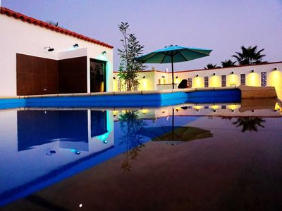 Photo for Holiday House - 2 people, 70m² living space, 1 bedroom, swimming pool, Washing machine