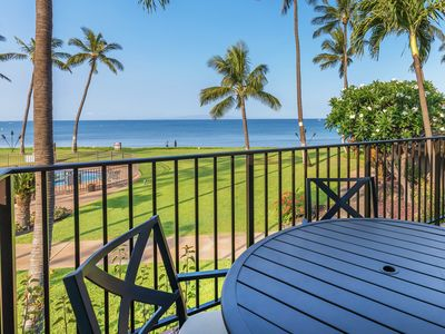 Photo for Exquisite Oceanfront Condo ★ Amazing Views ★ 1,270 Sq Ft ★ Maalaea Surf C7