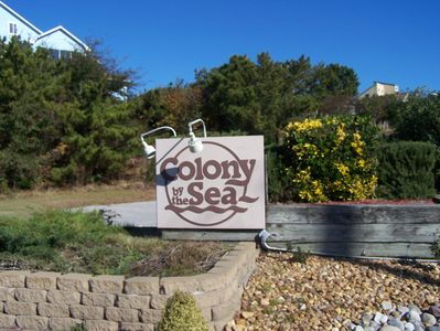 Colony By the Sea entrance