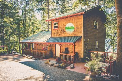 The spacious Quilcene getaway.