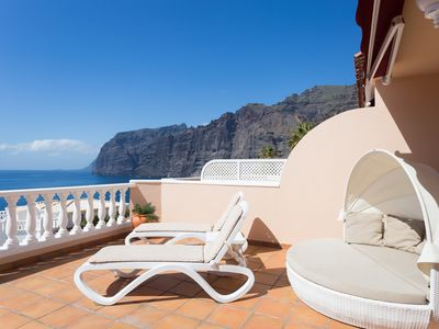 Photo for STUNNING ONE BEDROOMED APARTMENT WITH SPECTACULAR SUN TERRACE, WIFI AND SKY TV