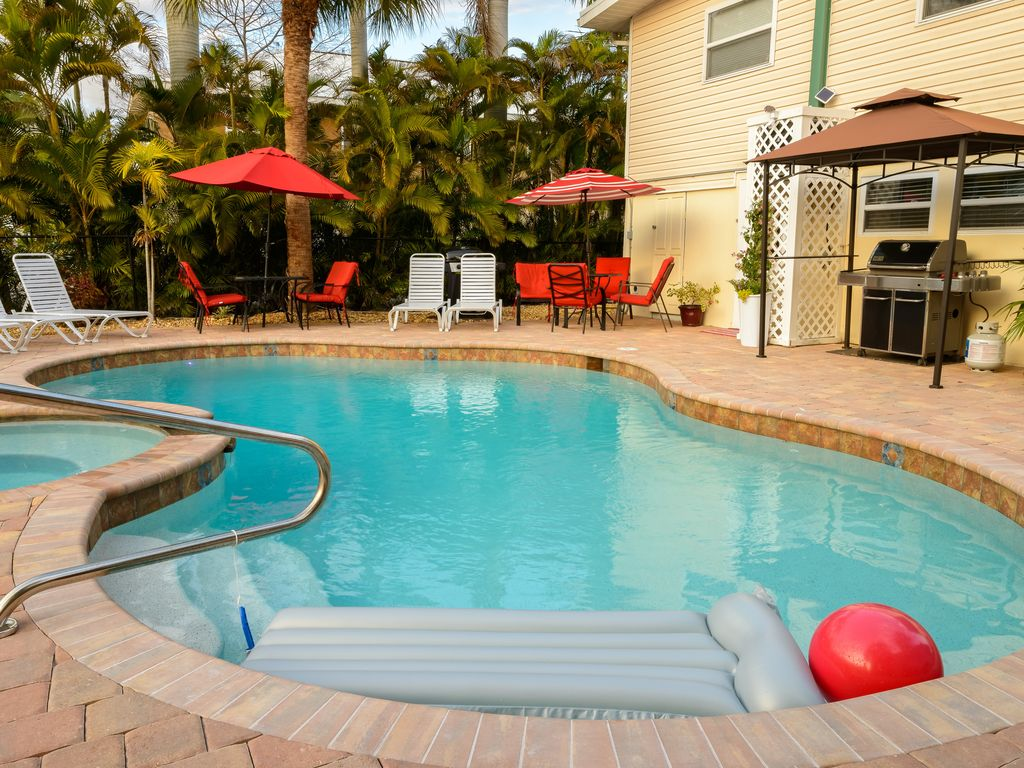 Rental By Canal Water Pool Hot Tub Close Vrbo