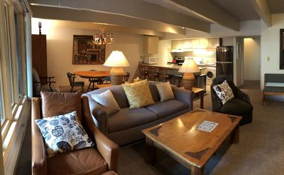 Photo for Newly Updated, Spacious, 1 block from Gondola & 20% off ski rentals