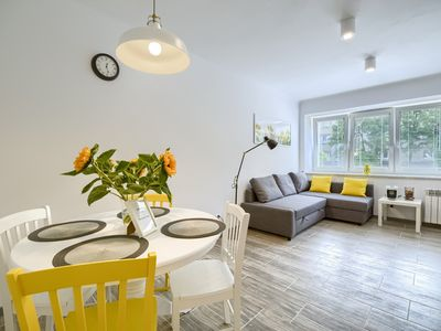 Photo for Polin Apartment Warsaw Jewish Quarter - Fast Wi-Fi/TV