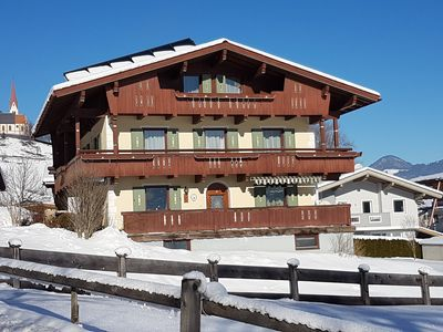 Photo for Apartment right on the edge of the forest with views of the Golgplatz