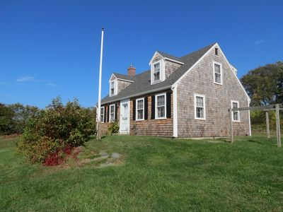 Classic Brewster Cottage Steps from Private Beach, Water Views, Pets Considered.