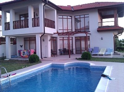 Photo for Villa with Private Pool & Panoramic Sea Views, 20 Mins drive from BourgasAirport