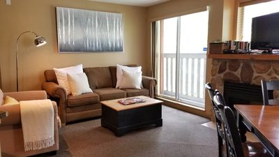 Photo for Large 2Bdrm/2Bath apt, Village cntr, AC, hot tub, fitness cntr, secured parking