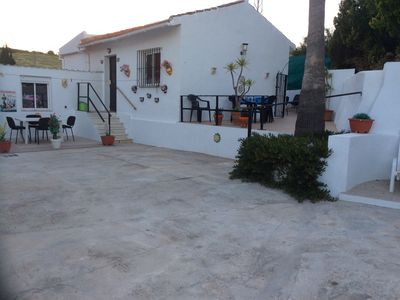 Photo for Apartment In the grounds of our secluded villa with private pool.