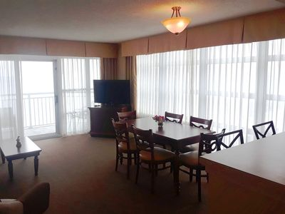 Photo for Carolinian 1633- Oceanfront balcony access from both bedrooms!!!!