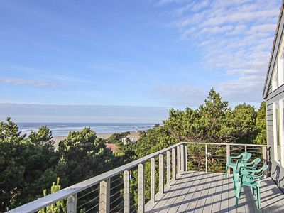 Photo for Light and Bright Oceanfront Home with Beach Access Just Steps Away! Pets Welcome!