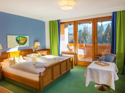 Photo for Double room / Alpine Classic / with shower od. Bad, W - Tyrol, Impuls Hotel