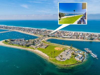 Bayfront View ⛱️ CLEAN ideal Mission Beach location walk to OCEAN & BAY ☀️