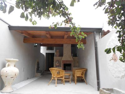 Photo for Central Holiday House Sisse with Extraordinarily Decorated Courtyard & Barbecue; Parking Available