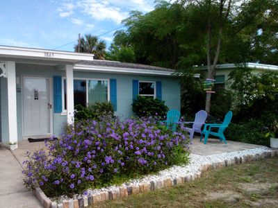 Photo for Daytona Beach Shores Beach Side Bungalow! Steps From The Beach...