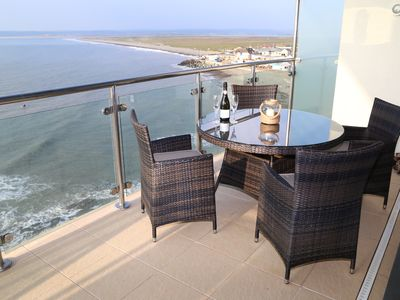 "Photo for ""Penthouse 60"" is a Luxury Apartment With Amazing Sea Views In Westward Ho!"