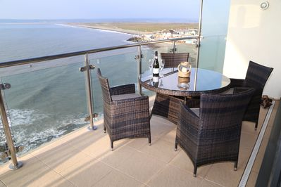 The best way to relax with views over the beach.