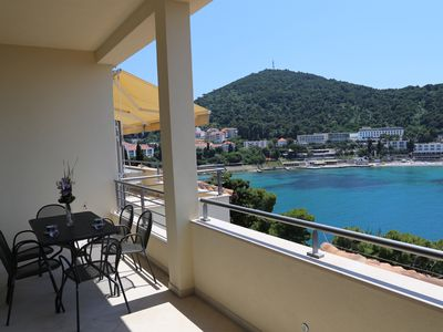 Photo for Dubrovnik Luxury duplex apartement on water front