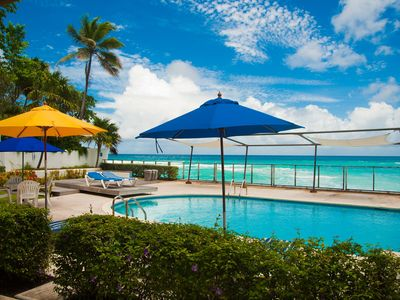 Photo for Charming 2-BR on the Beach in St Lawrence Gap Barbados