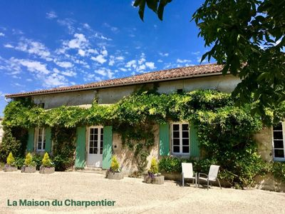 Photo for Chez Lussaud - 2 Luxury Gites with Pool, private hot tubs & superb accommodation