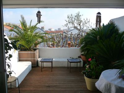 Photo for Biarritz center, charming apartment, the beach walk, beautiful south terrace