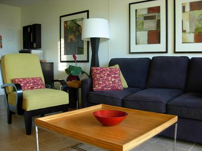 Our comfortable and ample living room