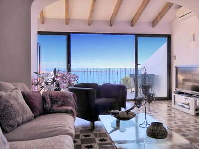 Photo for Spectacular deluxe house, amazing sea views , top location in Altea old town