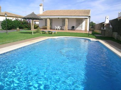Photo for Andalusian Style, Large Pool, Terrace with Pool View, Fireplace - Casa Herera -