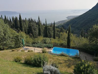 Photo for Holiday house in the absolute nature with breathtaking lake views, small pool