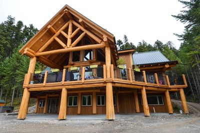 This is the main lodge which contains three suites Dawson, Uptown, & Owls Nest