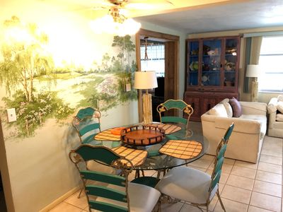 Photo for Comfortable, fun, and happy home on wide canal in Hudson, Fl.