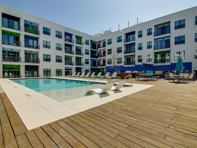 Photo for Apartment 78 m from the center of Austin with Internet, Pool, Air conditioning, Lift (698040)