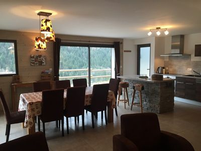 Photo for Appartment for 8  with private hot tube
