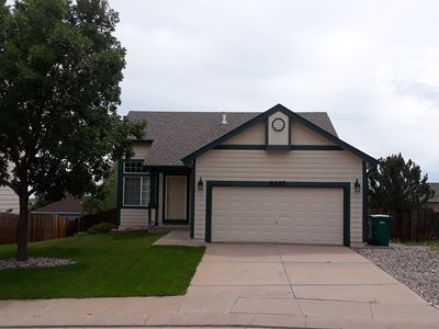 Photo for Cozy home with A/C- Near Shopping, Dining, Movies, Airport, Air Force Academy