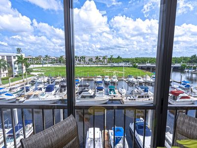 Photo for NAPLES WATERFRONT CONDO WALKING DISTANCE TO BEACH AND DOWNTOWN 5TH AVENUE