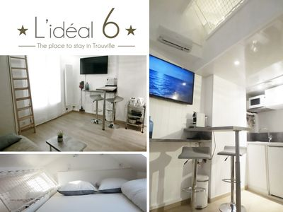 Photo for IDEAL 6: studio ** 50m from the casino