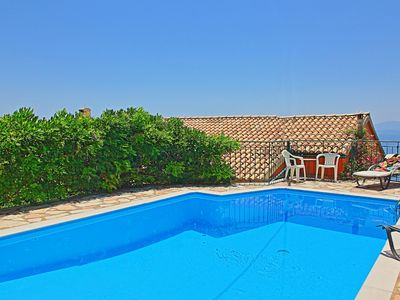 Photo for Stunning views, private pool, garden, A/C, Wi Fi