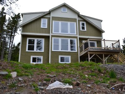 Photo for Dramatic house with 292' of Oceanfront