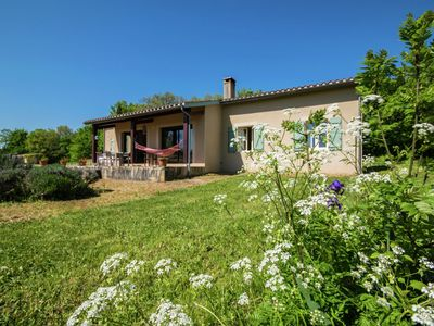 Photo for Single-floor villa with private swimming pool and panoramic view